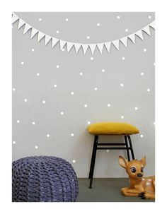 Hey, I found this really awesome Etsy listing at https://www.etsy.com/listing/187672708/white-dot-wall-decals-wall-stickers-wall