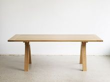 henry wilson saw horse table