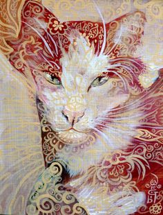 Strawberry Cat by OneCrazyCleric on DeviantArt