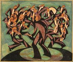 Jazz musicians by William Greengrass