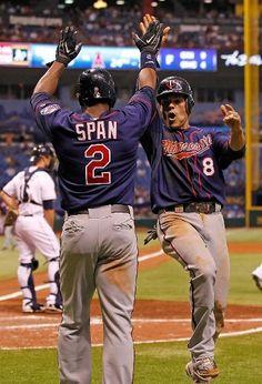 MLB:  Twins 5 (5-9, 3-5 away) Tampa Bay Rays 4 (7-7, 3-1 home) FINAL  Top Performer- J. Carroll, MIN: 2-3, 2 R, 2 BB   keepinitrealsports.tumblr.com  keepinitrealsports.wordpress.com