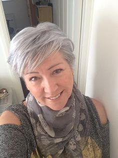 cabelo crescendo | grisalha, e agora?