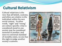 Cultural Relativism - compare this definition with the syllabus glossary.  Consider how you would apply the concept of cultural relativism to your focus study on Muslims in Australia.