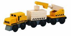 Plan Toys Plancity Push And Pull Crane Train « Delay Gifts  buy on…