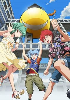 ANSATSU KYOUSHITSU/ASSASSINATION CLASSROOM, Kayano Kaede, Shiota Nagisa, Akabane Karma