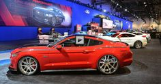 Check out all the incredible custom built 2015 Ford Mustang Cars at SEMA