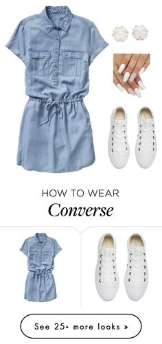 """""""Junior"""" by carlafashion-246 on Polyvore featuring Gap, Converse and Chanel"""