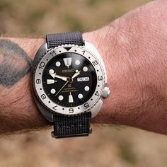 TGIF folks! - MOD Mini Turtles, Seiko Mod, Seiko Watches, Watches For Men, Steel, Crystals, Accessories, Black, Tic Tac
