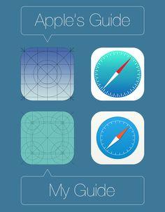 Safari icon for iOS 7 / Jacminik