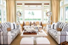 The Jupiter Island home of Greg and Kiki Norman. Photography by Jerry Rabinowitz