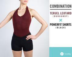 루스플라이 파워핏 라인 Leotards, Gym Shorts Womens, Burgundy, Black, Fashion, Navy Tights, Moda, Black People, Fashion Styles