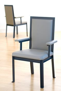 EVAN LEWIS Aluminum Dining ChairA - Find this and many other chair options for your design project at Ernest Gaspard & Associates   Atlanta, GA