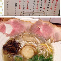 【75jun720】さんのInstagramの写真をピンしています。《#大阪#塚本駅前#塚本ラーメン#創作ラーメンstyle林#style林#林  2度目のstyle林。 11月の金曜日限定『ホタテ塩の雫』 ほんのり帆立の甘味と焦がし玉ねぎの甘味、貝の旨味を染み込ませたえのき茸。 アサリ、レアチャーシュー、三つ葉に柚子の皮。 そして主役の帆立! 超美味かった!  帆立をなめるなよ😉》