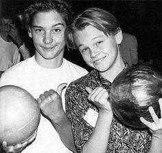 Toby McGuire and Leonardo DiCaprio