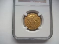 Guinea 1680 slabbed by NGC AU55 £6500 More details http://bit.ly/1uTgXgn