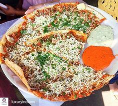 Via @luxuryindians - :Pizza Dosa  at Dhiraj Stall opp. Mithibai College One of the best Dosa places in Mumbai it is every student's dream come true: YUMMY Street FOOD! This place also serves mouth-watering Sandwiches and Vada Pav! A must-try for every person who visits Mumbaaai : 120 . . #luxuryindians #epicureanvibes #instafood #foodgasm #foodporn #mumbai #mumbaifood #instamumbai #yummy #letsblogsomefood #instafoodie #mumbaidiaries #food #everydaymumbaikar #foodblog #indian #india…