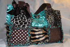 diaper bag, but the smaller version. Love it. SO me :)