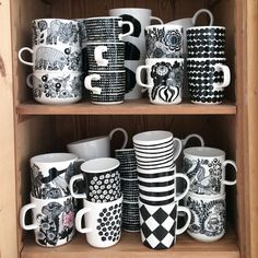 Interior and lifestyle. By Johanna Sandberg. Creation Deco, Marimekko, Scandinavian Interior, Tea Mugs, Decoration, Home And Living, A Table, Kitchen Decor, Interior Decorating