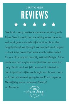 Looking to buy or sell a home? Let the Erica Diaz team help! Here is what our customers are saying. Windermere Florida, Winter Garden Florida, New Home Developments, Clermont Florida, West Orange, First Time Home Buyers, Central Florida, Property Management, Home Buying