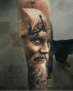 """6,912 Likes, 254 Comments - Tattoo Realistic (@tattoorealistic) on Instagram: """"By the hyper talented @arlotattoos from USA."""""""
