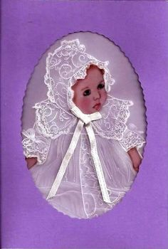 Baby Card Parchment