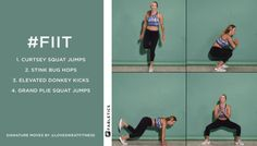 FIIT | 4 Moves to Tone Your Lower Body