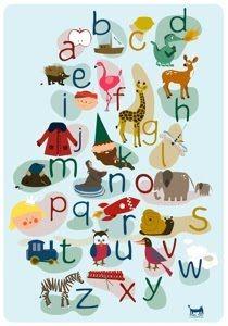 PSikhouvanjou: Eindelijk een Nederlandse ABC poster- Studio Tickle