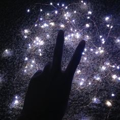 Peace to the planet. #lights