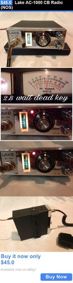CB Radios: Lake Ac-1000 Cb Radio (Nos) BUY IT NOW ONLY: $45.0
