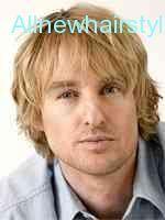 nice Owen Wilson Hairstyles