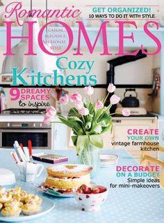 Romantic Homes Magazine Sept. 2013