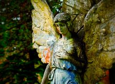 ♥ something about this Angel gives me the sense of peace.