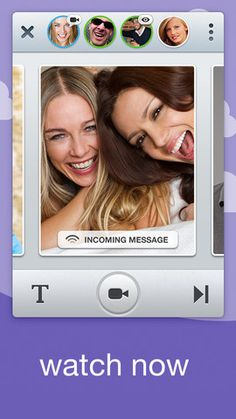 Download free Glide - Video Texting app for iOS devices (July 2013)