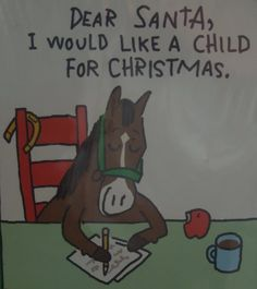 This is pretty much what I feel like responding with when people ask for my gift wish list... :)