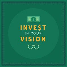 Your vision is always a smart investment!  Have you scheduled your comprehensive eye exam?  #LoveYourEyes #ZionsvilleEyecare
