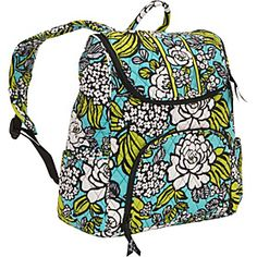 Vera Bradley Double Zip Backpack  - Island Blooms - via eBags.com!