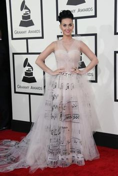 Another amazing Katy Perry dress; at the 2014 grammys
