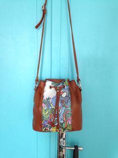 Lovely Bagolino bag!  100% Handmade!//Italian leather, multicolor aluminium zipper // www.getcuore.com //