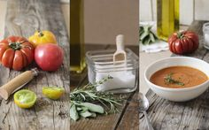 Soupe de Tomate; une recette de Pause gourmande en Provence Healthy Herbs, Daily Vitamins, Winter Soups, Fresh Herbs, Food For Thought, Summer Recipes, Soup Recipes, A Food, Food Photography