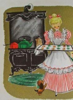 Vintage Christmas card #vintage #christmascard
