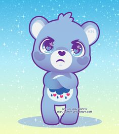 Sorry @Victoria Dobbins this is really what your Grumpy Bear looks like.