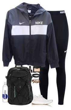"""Going to Arizona for sb"" by halledaniella ❤ liked on Polyvore featuring NIKE, adidas, Patagonia, NARS Cosmetics, lululemon, Pura Vida and Kendra Scott"