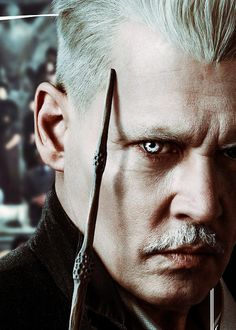 EW: Heading into Fantastic Beasts: The Crimes of Grindelwald, what do we need to know about the title character? ROWLING: The first mention of Grindelwald is in Harry Potter and the Philosopher's. Johnny Depp Fantastic Beasts, Fantastic Beasts And Where, Johnny Depp Quotes, Johnny Depp Pictures, Johnny Depp Movies, Harry Potter Universal, Harry Potter World, Junger Johnny Depp, Hogwarts