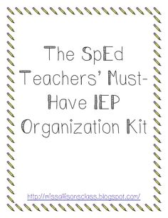 Freee IEP Organization Kit.pdf - Google Drive