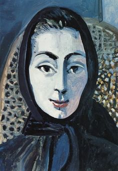 Another wonderful woman portrait by Palbo Picasso
