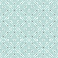 2625-21839 Turquoise Geometric Floral - Kinetic - Symetrie Wallpaper by A - Sreet Prints