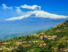 Amazing View of volcano Etna from the town Castelmola | 10 Top Rated Tourist Attractions In Sicily