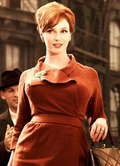 Christina Hendricks as Joan Holloway in 'Mad Men'