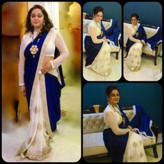 Pure #Crepe and #Georget #Saree