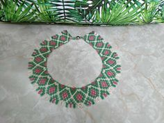 Bead Necklaces, Tree Skirts, Christmas Tree, Beads, Holiday Decor, Home Decor, Beaded Necklaces, Teal Christmas Tree, Beading